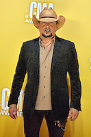 NASHVILLE, TN - NOVEMBER 1: Jason Aldean on the Macy's Red Carpet at the 46th Annual CMA Awards at the Bridgestone Arena in Nashville, TN on Nov. 1, 2012. © mpi99/MediaPunch Inc. /NortePhoto
