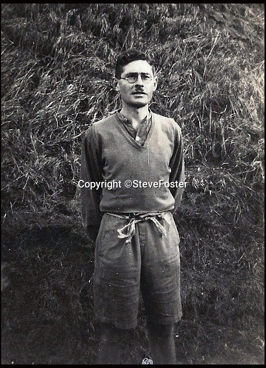 BNPS.co.uk (01202 558833)<br /> Pic: SteveFoster/BNPS<br /> <br /> Lance Corporal Anthony Coulthard.<br /> <br /> The poignant story of how a British Prisoner of War paid with his life for turning back for a comrade during an audacious escape has been uncovered in an old suitcase.<br /> <br /> Frederick Foster and Antony Coulthard had travelled 1,000 miles across Poland and Germany before one of them was caught by a German guard on the Swiss border.<br /> <br /> Coulthard, who was free, went back for him and was also caught. He went on to die on a 'death march' towards the end of the war. <br /> <br /> Now Sgt Foster's son Steve is turning the epic escape into a book.