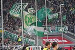 18.01.2020, Merkur Spielarena, Duesseldorf , GER, 1. FBL,  Fortuna Duesseldorf vs. SV Werder Bremen,<br />  <br /> DFL regulations prohibit any use of photographs as image sequences and/or quasi-video<br /> <br /> im Bild / picture shows: <br /> Fans Bremen<br /> <br /> Foto © nordphoto / Meuter