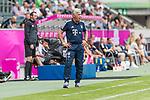 15.07.2017, Borussia Park, Moenchengladbach, GER, TELEKOM CUP 2017 - FC Bayern Muenchen vs TSG 1899 Hoffenheim<br /> <br /> im Bild<br /> Carlo Ancelotti (Trainer FC Bayern Muenchen) in Coaching zone, <br /> <br /> Foto &copy; nordphoto / Ewert