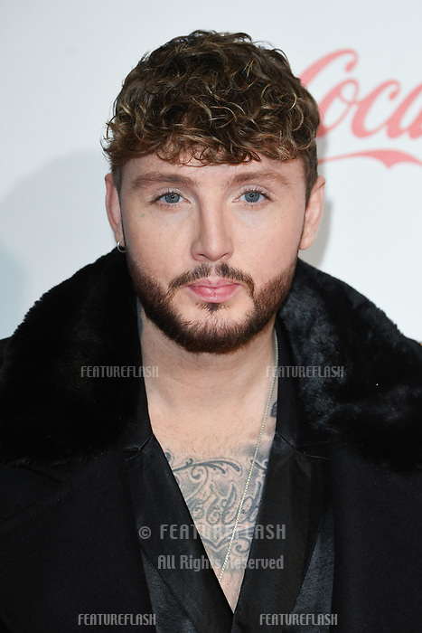LONDON, UK. December 08, 2018: James Arthur at Capital's Jingle Bell Ball 2018 with Coca-Cola, O2 Arena, London.<br /> Picture: Steve Vas/Featureflash