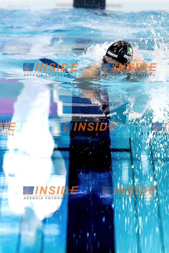 Gabriele DETTI ITA<br /> 400 freestyle men<br /> London, Queen Elizabeth II Olympic Park Pool <br /> LEN 2016 European Aquatics Elite Championships <br /> Swimming day 01 finals<br /> Day 08 15-05-2016<br /> Photo Giorgio Scala/Deepbluemedia/Insidefoto