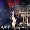 An Evening with Amanda Palmer &amp; guests <br /> live at the Union Chapel, London, Great Britain <br /> 8th June 2015 <br /> <br /> with special guests including <br /> <br /> Caitlin Moran <br /> Le Gateau Chocolat<br /> Andrew O'Neill<br /> <br /> <br /> <br /> Photograph by Elliott Franks <br /> Image licensed to Elliott Franks Photography Services
