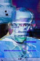 Yep it's a real thing ... Digital Glitch Art.  This was a submission in response to a brief request.