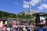 Sign on before the start of Stage 18 of the 100th edition of the Giro d'Italia 2017, running 137km from Moena to Ortisei/St. Ulrich, Italy. 25th May 2017.<br /> Picture: LaPresse/Gian Mattia D'Alberto | Cyclefile<br /> <br /> <br /> All photos usage must carry mandatory copyright credit (&copy; Cyclefile | LaPresse/Gian Mattia D'Alberto)