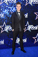 Casper Lee arriving for the Global Awards 2018 at the Apollo Hammersmith, London, UK. <br /> 01 March  2018<br /> Picture: Steve Vas/Featureflash/SilverHub 0208 004 5359 sales@silverhubmedia.com