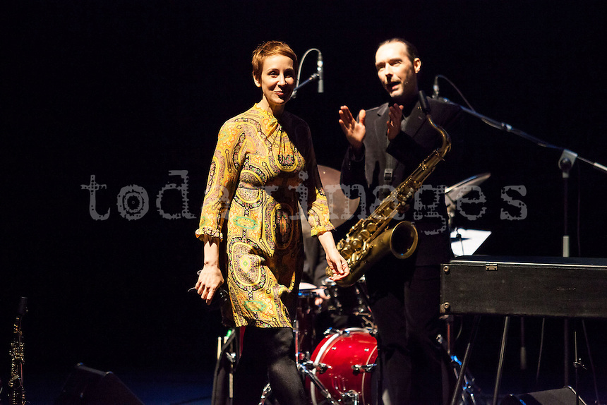 "Stacey Kent at the ""Jazz festival of Madrid"""
