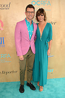 Brad Goreski, Lisa Rinna<br /> at the Ovarian Cancer Research Fund Alliance's 3rd Annual Super Saturday, Barker Hangar, Santa Monica, CA 06-11-16<br /> David Edwards/Dailyceleb.com 818-249-4998