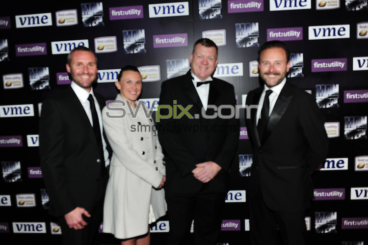 Picture by Simon Wilkinson /SWpix.com - 05/10/2015 - Rugby League - 2015 First Utility Super League Man of Steel Awards Dinner - Emirates Old Trafford, Manchester, England - 2015 Steve Prescott MBE Man of Steel Award.<br />