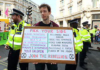 APR 19 Extinction Rebellion in Oxford Circus