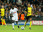 Tottenham's Davinson Sanchez in action during the champions league match at Wembley Stadium, London. Picture date 13th September 2017. Picture credit should read: David Klein/Sportimage
