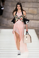 LOUIS VUITTON<br /> show at Spring/Summer 2018 Ready-to-Wear Fashion Show at Paris Fashion Week in Paris, France in October 2017.<br /> CAP/GOL<br /> &copy;GOL/Capital Pictures