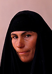 Marsh Arabs. Southern Iraq. Circa 1985. Marsh Arab woman. Baghdad,