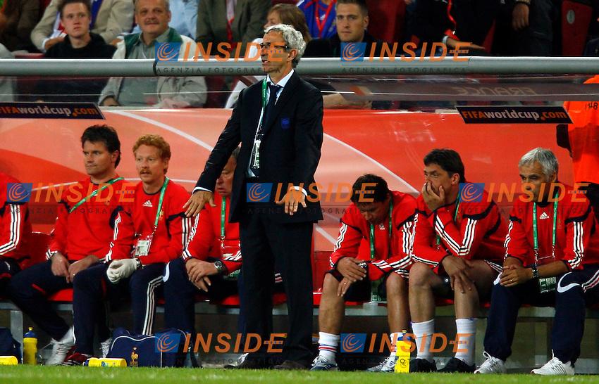 Colonia 23/6/2006 World Cup 2006.Togo Francia 0-2.Photo Andrea Staccioli Insidefoto.France trainer Raymond Domenech