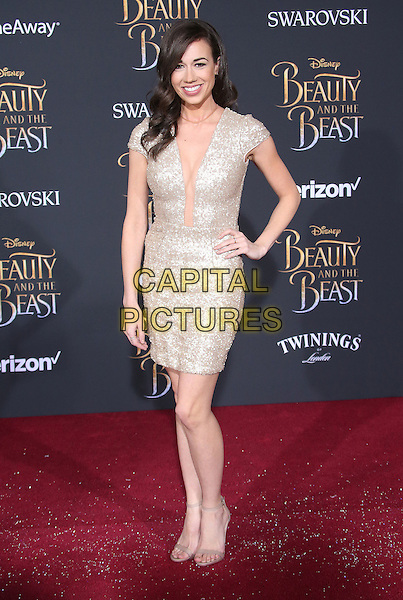 02 March 2017 - Hollywood, California - Colleen Ballinger. Disney's &quot;Beauty and the Beast' World Premiere held at El Capitan Theatre.   <br /> CAP/ADM/FS<br /> &copy;FS/ADM/Capital Pictures