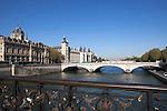 The Conciergerie, a former royal palace and prison, Ile de la Cite, Paris, France, Europe