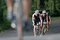 08 JUL 2007 - WAKEFIELD, GBR - Mike Hitchins - British Age Group Triathlon Championships. (PHOTO (C) NIGEL FARROW)