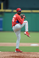 Philadelphia Phillies pitcher Elniery Garcia (70) during an Instructional League game against the New York Yankees on September 23, 2014 at the Bright House Field in Clearwater, Florida.  (Mike Janes/Four Seam Images)