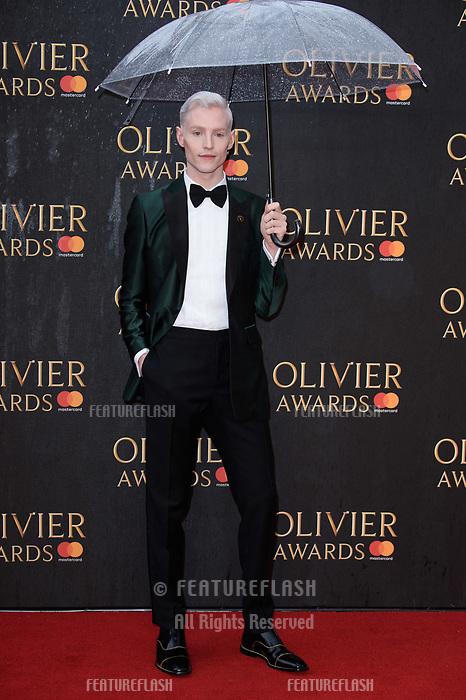 John McCrea arriving for the Olivier Awards 2018 at the Royal Albert Hall, London, UK. <br /> 08 April  2018<br /> Picture: Steve Vas/Featureflash/SilverHub 0208 004 5359 sales@silverhubmedia.com