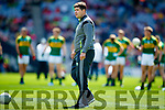 Kerry Manager Eamonn Fitzmaurice Kerry in action against  Galway in the All Ireland Senior Football Quarter Final at Croke Park on Sunday.