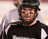 Anthony Florentino (PC - 16) - The Providence College Friars practiced on the rink at Fenway Park on Friday, January 6, 2017.