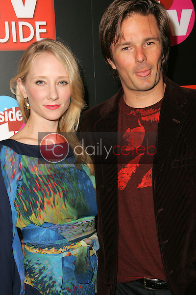 """Anne Heche and Coleman """"Coley"""" Laffoon<br />at the TV Guide and Inside TV Emmy Awards After Party. Hollywood Roosevelt Hotel, Hollywood, CA 09-18-05<br />Dave Edwards/DailyCeleb.Com 818-249-4998"""