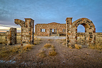 Abandoned school in southern New Mexico.