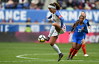 Harrison, N.J. - Sunday March 04, 2018: Alex Morgan during a 2018 SheBelieves Cup match between the women's national teams of the United States (USA) and France (FRA) at Red Bull Arena.
