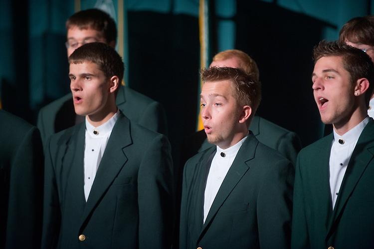 19027Freshman Convocation 9/07/08....Singing Men of Ohio