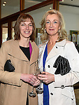 Wendy Taylor and Aisling Monahan pictured at the Women In Sport Lunch at City North Hotel. Photo:Colin Bell/pressphotos.ie