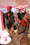 "Guests in store during the ""Incredible by Victoria's Secret"" launch at the Victoria Secret SOHO Store, August 10, 2010."