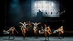 "English National Ballet. ""Lest We Forget"" programme. ""No Man's Land"". Choreography by Liam Scarlett."
