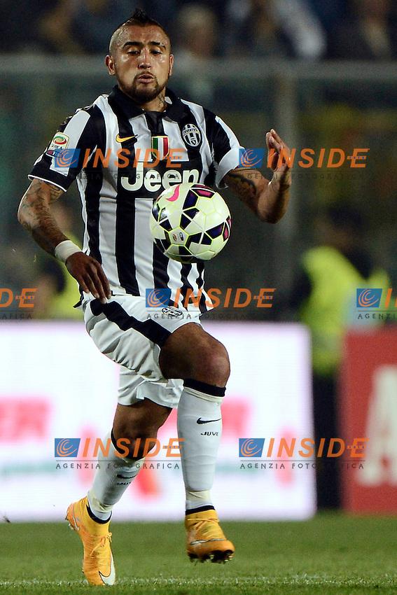 Arturo Vidal Juventus<br /> Bergamo 27-09-2014 Stadio Atleti Azzurri d'Italia - Football 2014/2015 Serie A. Atalanta - Juventus Foto Giuseppe Celeste / Insidefoto