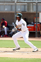 Aaron Shipman - Oakland Athletics - 2010 Instructional League.Photo by:  Bill Mitchell/Four Seam Images..