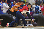 Daisuke Yoshida (JPN), <br /> AUGUST 23, 2018 - Bowling : <br /> Men's Trios Block 1 <br /> at Jakabaring Sport Center Bowling Center <br /> during the 2018 Jakarta Palembang Asian Games <br /> in Palembang, Indonesia. <br /> (Photo by Yohei Osada/AFLO SPORT)