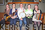 Fe?ile Barr na Sraide launched on Thursday night last in the Waterville Inn, pictured here l-r; Caroline Moriarty, Ro?isi?n Ryan, Gearoid Keating, Eileen Moriarty & Patricia O'Sullivan, the festival will take place in Waterville from the 17th - 19th June.
