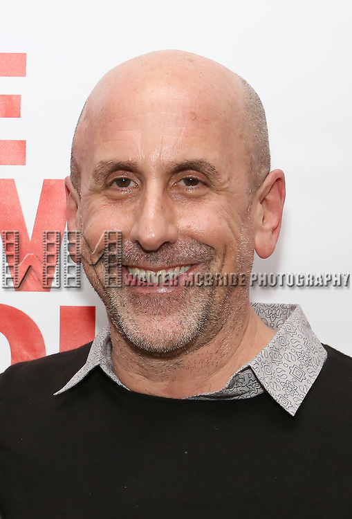 """Scott Elliott attends The New Group presents the New York Premiere Opening Night of David Rabe's for """"Good for Otto"""" on March 8, 2018 at the Green Fig Urban Eatery,  in New York City."""