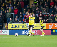 5th January 2020; Pirelli Stadium, Burton Upon Trent, Staffordshire, England; English FA Cup Football, Burton Albion versus Northampton Town; Stephen Quinn of Burton Albion passing the ball - Strictly Editorial Use Only. No use with unauthorized audio, video, data, fixture lists, club/league logos or 'live' services. Online in-match use limited to 120 images, no video emulation. No use in betting, games or single club/league/player publications