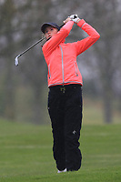 Magdalena Maier (GER) on the 1st fairway during Round 1 of the Irish Girls U18 Open Stroke Play Championship at Roganstown Golf &amp; Country Club, Dublin, Ireland. 05/04/19 <br /> Picture:  Thos Caffrey / www.golffile.ie
