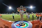 Erbil vs Al Qadsia during the 2014 AFC Cup Finals on 18 October 2014, at the Maktoum Bin Rashid Al Maktoum Stadium, Dubai, United Arab Emirates. Photo by World Sport Group