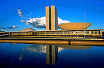 Edifício do Congresso Nacional. Brasília. 2001. Foto de Juca Martins.