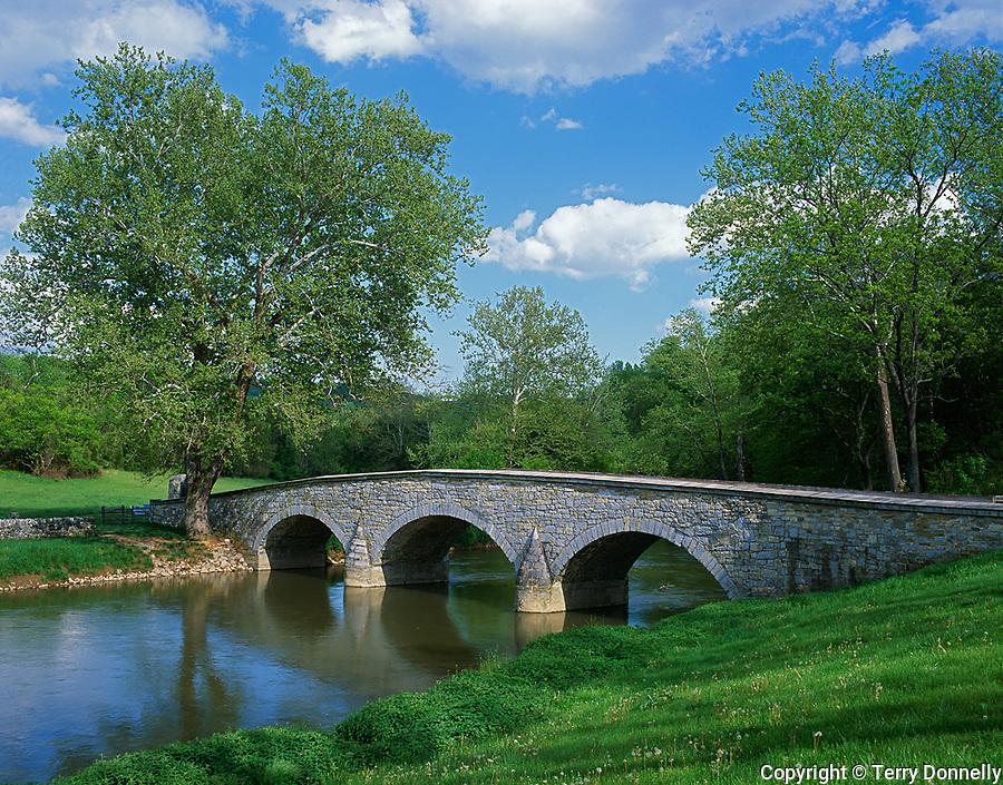 Anteitam National Battlefield, MD<br /> Lower Bridge also known as Burnside Bridge on Antietam Creek