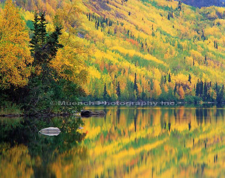 """Long Lake, Matanuska Valley   ALASKA"""