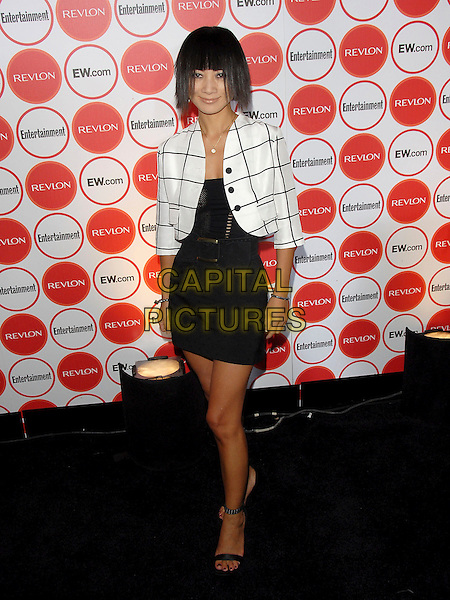 BAI LING.attends The Entertainment Weekly Pre-Emmy Party held at Republic in West Hollywood, California, USA,.August 26, 2006..full length black and white jacket dress.Ref: DVS.www.capitalpictures.com.sales@capitalpictures.com.©Debbie VanStory/Capital Pictures