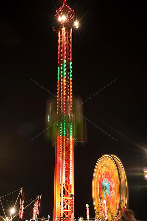 Carnival ferris wheel, Austin Texas