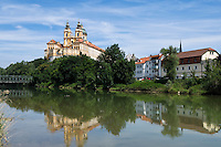 Austria, Lower Austria, UNESCO World Heritage Wachau, Melk, Benedictine monastery since 1089, founded by Margrave Leopold II
