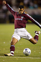 Colorado Rapids Jose Burciaga Jr.. LA Galaxy defeated the Colorado Rapids 3-2 at Home Depot Center stadium in Carson, California on Sunday October 12, 2008. Photo by Michael Janosz/isiphotos.com