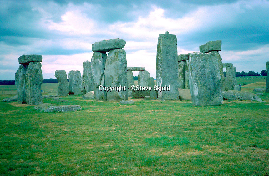 The ever mystical Stonehenge.  Stonehenge  England