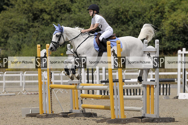 Class 3. British showjumping juniors. Brook Farm Training Centre. Essex. UK. 08/07/2018. ~ MANDATORY Credit Garry Bowden/Sportinpictures - NO UNAUTHORISED USE - 07837 394578