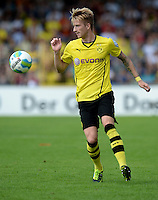 FUSSBALL       DFB POKAL 1. RUNDE        SAISON 2013/2014 SV Wilhelmshaven - Borussia Dortmund    03.08.2013 Marco Reus (Borussia Dortmund) am Ball